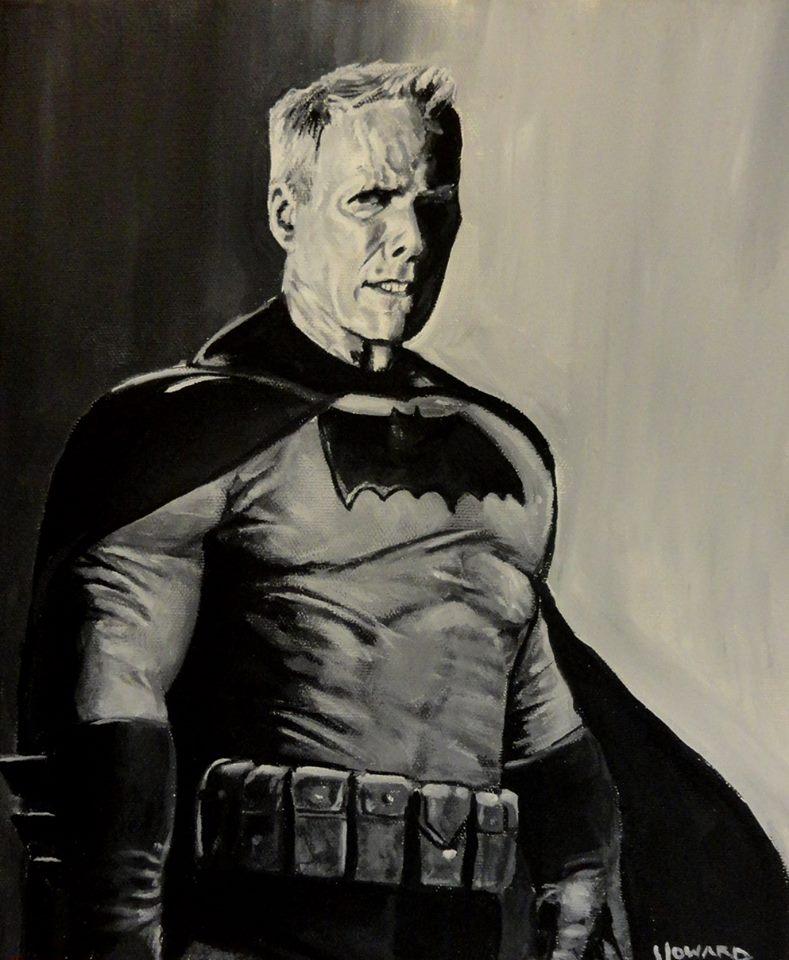 Dark Knight Clint Eastwood as Batman by Lee-Howard